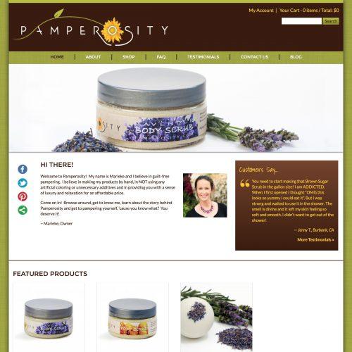 Pamperosity - Handmade Bath & Body Products.